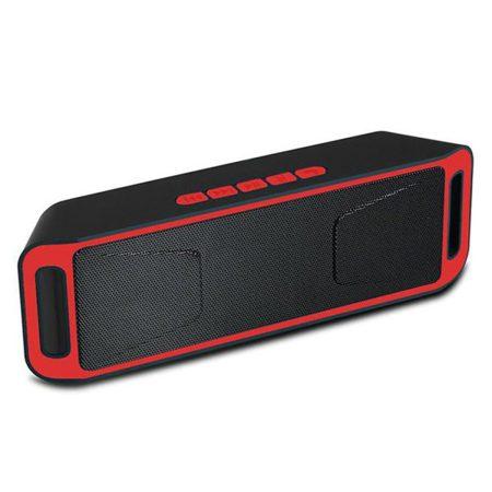 Boxă Sc208 Bluetooth - roșie